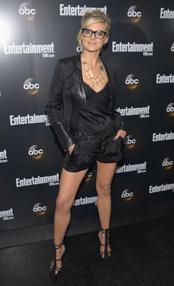 """Eliza Coupe (""""Happy Endings"""") attends the Entertainment Weekly and ABC Upfront VIP Party at Dream Downtown on May 15, 2012 in New York City."""