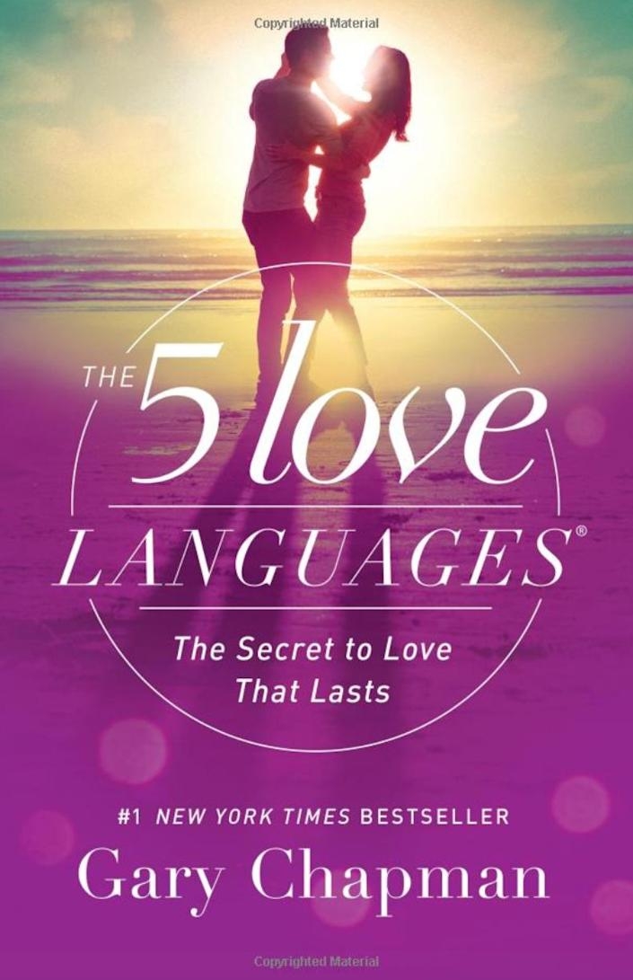 """""""After 30 years as a marriage therapist, Gary Chapman came to realize that the word 'love' is a verb, implying action, and that you can't love another person unless you are doing things for them that ultimately make them feel loved. He noted that not all individuals value the same actions, but five categories seem to cover everyone's needs. These are the five love languages: physical touch, words of affirmation, quality time, acts of service and gifts. Some people only need one of them, some all, and others two or three, but it is these loving actions that make a partner's heart sing, To knock your vow to love out of the park, you have to know your spouse's love languages and practice them numerous times a week. I can't count the couples who have told me they wish they had learned them sooner."""" --<i> <a href=""""https://www.psychologytoday.com/us/therapists/becky-whetstone-little-rock-ar/44406"""" rel=""""nofollow noopener"""" target=""""_blank"""" data-ylk=""""slk:Becky Whetstone"""" class=""""link rapid-noclick-resp"""">Becky Whetstone</a></i><i>, marriage and family therapist in Texas and Little Rock, Arkansas<br><br><strong><a href=""""https://www.amazon.com/Love-Languages-Secret-that-Lasts/dp/080241270X/ref=sr_1_1?keywords=&quot;The+Five+Love+Languages%2C&quot;+by+Gary+Chapman.&amp;qid=1566584010&amp;s=books&amp;sr=1-1&amp;tag=thehuffingtop-20"""" rel=""""nofollow noopener"""" target=""""_blank"""" data-ylk=""""slk:Get &quot;The 5 Love Languages: The Secret to Love That Lasts&quot; by Gary Chapman"""" class=""""link rapid-noclick-resp"""">Get """"The 5 Love Languages: The Secret to Love That Lasts"""" by Gary Chapman</a></strong><br></i>"""