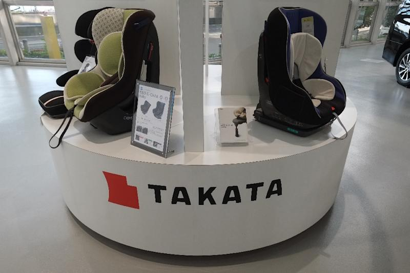 Takata shares plummeted by more than 50 percent Thursday on fears the troubled airbag maker plans to file for bankruptcy