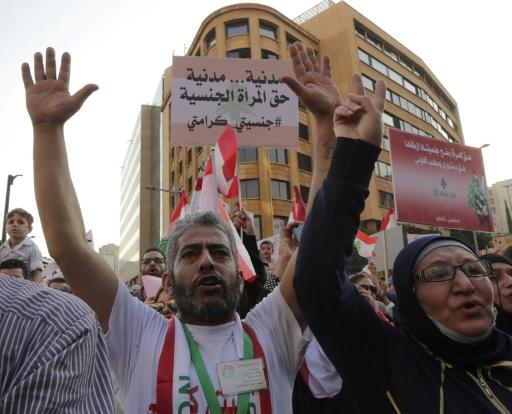 Despite activists campaigning to amend the 1925 nationality law that keeps Lebanese women from passing their citizenship to their children,�authorities have been reluctant to do so