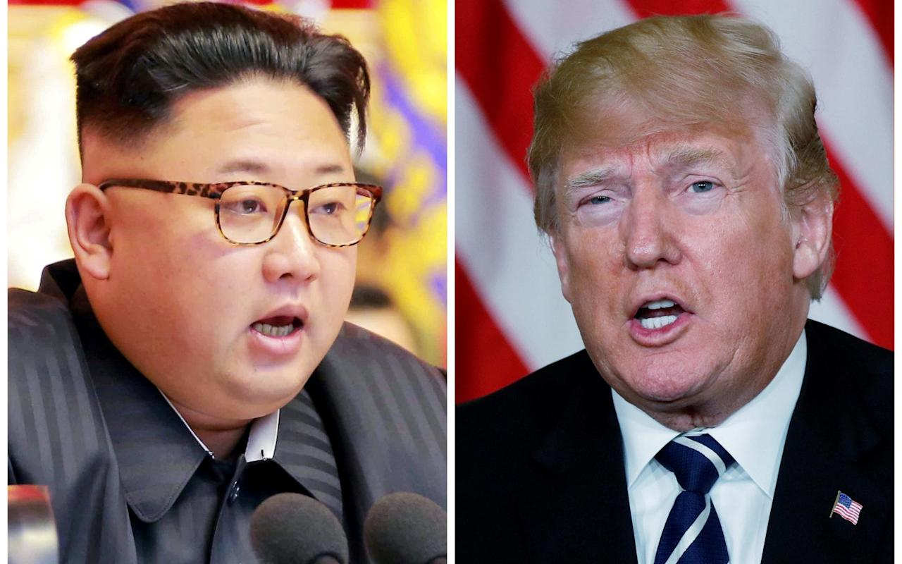 "Donald Trump has conceded he does not know if his meeting with Kim Jong-un will go ahead after North Korean officials openly criticsed his administration's demands.  The US president repeatedly said ""we'll see"" when asked to confirm if the June 12 summit in Singapore announced last week will still happen.  The White House insisted that hard-hitting economic sanctions would remain on the country unless Kim attended the meeting.  And a senior official played down claims they had been blindsided by North Korea's threat to not attend the meeting, saying they ""fully expected"" such developments . The response came after Kim Kye-gwan, North Korea's deputy foreign minister, singled out John Bolton, Mr Trump's new hardline national security adviser, for criticism.  Mr Bolton said last month that the ""Libya model"" from 2003 and 2004, when Libyan leader Muammar Gaddafi agreed to give up his nuclear weapons programme, would be used for North Korean talks.  However Gaddafi ended up being beaten and killed in the streets by a mob in 2011 after his government was thrown from office.  Kim Kye-gwan, North Korea's deputy foreign minister, said of Mr Bolton that ""we do not hide our feelings of repugnance towards him"" in a statement issued by the North Korean Central News Agency.  Mr Kim claimed the remarks cast doubt on America's sincerity, underlining that his country was not Libya, which met a ""miserable fate."" He added: ""This is not an expression of intention to address the issue through dialogue. It is essentially a manifestation of awfully sinister moves to impose on our dignified state the destiny of Libya or Iraq which had [sic] been collapsed due to yielding the whole of their countries to big powers."" North Korea analysts have cautioned that the undignified, brutal death of Gaddafi may be foremost on Kim Jong-un's mind ahead of talks on denuclearisation. Several also pointed to Mr Bolton's fractious history with North Korea when he was appointed by Mr Trump in March. In 2003, North Korea refused to participate in multilateral talks if Mr Bolton was present after he labelled then leader Kim Jong-il a ""tyrannical dictator"", a memory which the regime invoked on Wednesday. His remarks followed an unexpected announcement by KCNA on Tuesday that planned talks with South Korea had been postponed just hours before they were due to start because of the joint military drills.  America was also warned that ""careful deliberations"" would need to take place over whether to go ahead with Mr Trump's planned meeting with Kim. Asked if his meeting with Kim will go ahead, Mr Trump said: ""We'll have to see, we'll have to see.  No decision. We haven't been notified at all. We'll have to see."" North Korea has voiced frustration at US demands that the regime ""unilaterally"" gives up its nuclear programme.  Senior Trump administration figures have previously said sanctions would only be lifted after Kim gives up his nuclear arsenal.  Mr Trump reportedly said ""yes"" on Wednesday when asked if he will still insist on the denuclearisation of the Korean Peninsula.  Sarah Sanders, the White House press secretary, said of North Korea's threat to pull the meeting: ""This is something that we fully expected. The president is very use and ready for tough negotiations."" ""If they want to meet we'll be ready and if they don't that's okay too. We'll continue with the campaign of maximum pressure if that's the case."""