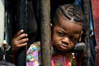 Nearly 20,000 undocumented migrants, mainly Haitians, are stuck in the northwestern Colombian town of Necocli, trying to make their way to Panama and ultimately the United States (AFP/Raul ARBOLEDA)