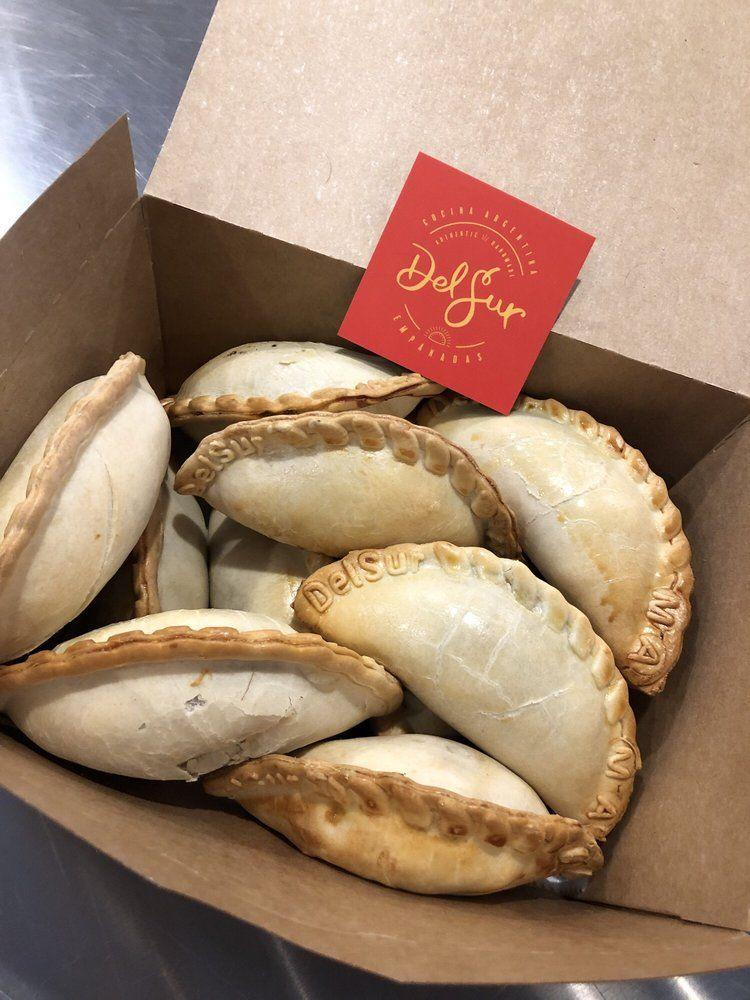 """<p><strong><a href=""""https://www.yelp.com/biz/delsur-empanadas-minnetonka"""" rel=""""nofollow noopener"""" target=""""_blank"""" data-ylk=""""slk:Delsur Empanadas"""" class=""""link rapid-noclick-resp"""">Delsur Empanadas</a>, Minnetonka</strong><br></p><p>""""The flavors are amazing, the combinations of the ones we had work so well!! Between the two of us, we tried the beef, chorizo, spinach, caprese and malbec empanadas. We loved all of them, especially the caprese, it's delicious!!! I'd get a dozen of just them, honestly!"""" – Yelp user <a href=""""https://www.yelp.com/user_details?userid=ILM6gC-r97L1O9TDMBxf-w"""" rel=""""nofollow noopener"""" target=""""_blank"""" data-ylk=""""slk:Emily P."""" class=""""link rapid-noclick-resp"""">Emily P.</a></p><p>Photo: Yelp/<a href=""""https://www.yelp.com/user_details?userid=FCgNAvNpFG3GCC0UqJl82w"""" rel=""""nofollow noopener"""" target=""""_blank"""" data-ylk=""""slk:Saksham R."""" class=""""link rapid-noclick-resp"""">Saksham R.</a></p>"""