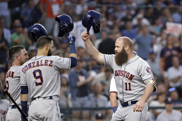 The Astros are looking strong to repeat as champs. (AP Photo)