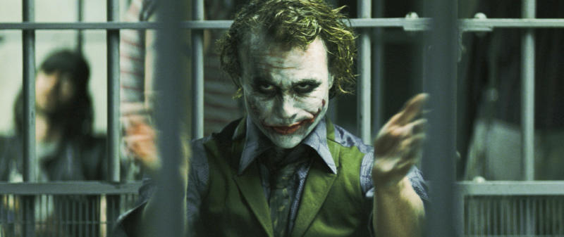 Why so Serious? Heath Ledger als Joker. (Bild: ddp images)