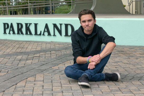 PHOTO: David Hogg, a senior at Marjory Stoneman Douglas High School, poses for a photo at Pine Trails Park, in Parkland, Fla., May 29, 2018. (Wilfredo Lee/AP, FILE)