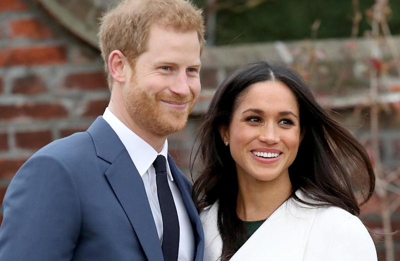 Extra police will be deployed to monitor the huge crow expected at Prince Harry and Meghan Markle's wedding: Getty Images