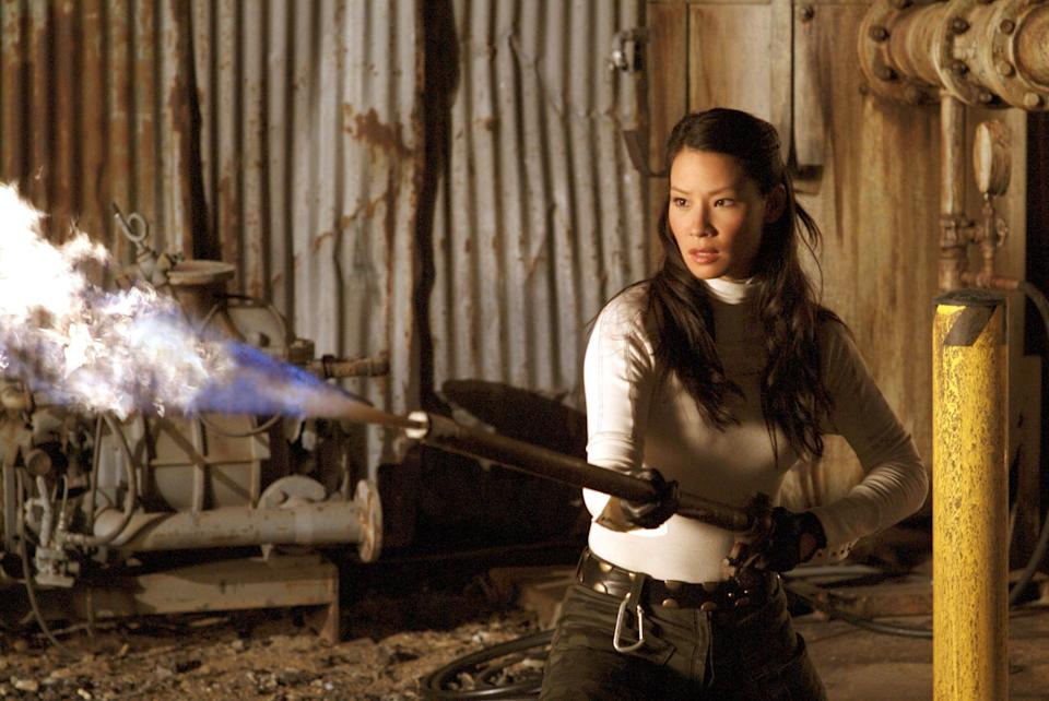 """Lucy Liu detailed her experience Tuesday about getting in a feud with Bill Murray on the set of """"Charlie's Angels."""""""