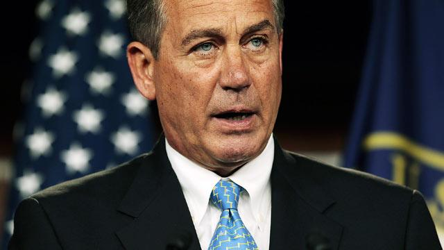 Boehner Rejects McCain's Call for Airstrikes in Syria