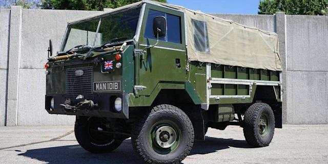Land Rover Truck >> This Military Land Rover Truck Is A Refurbished Blast From