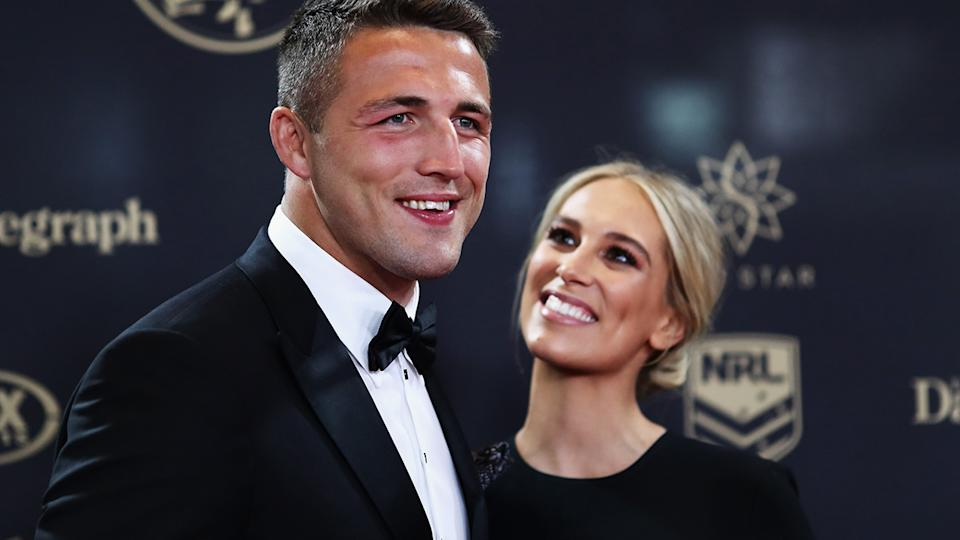 Sam Burgess has become embroiled in a bitter legal fight with his former wife Phoebe and her father, Mitchell Hooke. (Photo by Ryan Pierse/Getty Images)