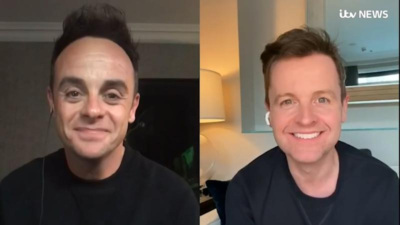 Ant and Dec urge fans to stay home: ITV