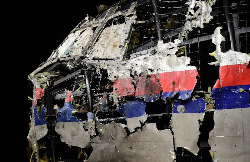 Aviation experts recreated the wrecked cockipt of Malaysia Airlines flight MH17 as part of the Dutch investigation into the downing of the Boeing 777 over Ukraine in 2014