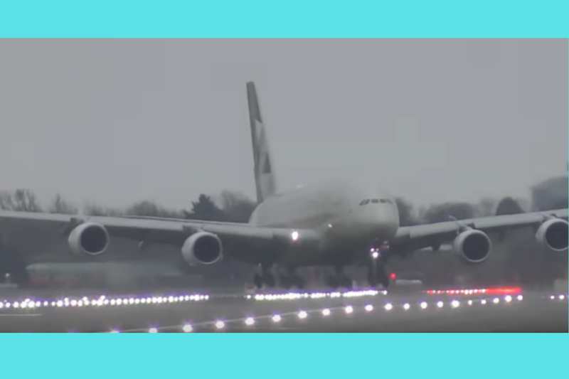 Twitter Applauds, Etihad Criticises Pilot for Heroic Landing of Airbus A380 After Video Went Viral