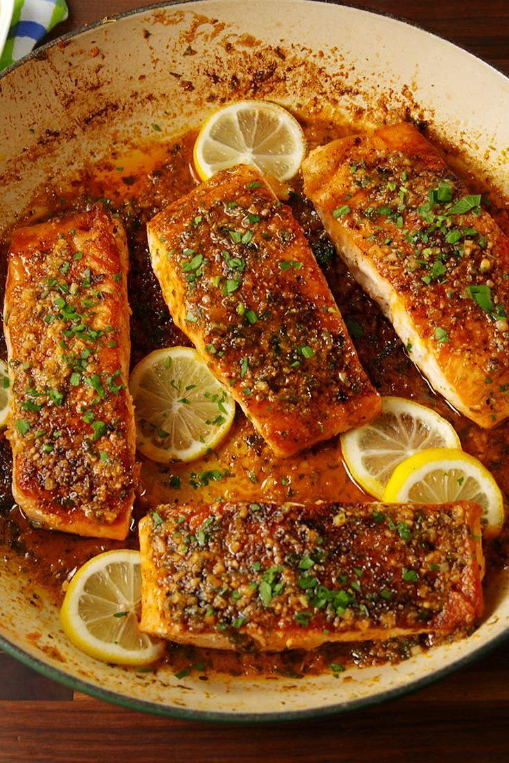 "<p>Cajun seasoning transforms salmon from bleh to oh yeah!</p><p>Get the recipe from <a href=""https://www.delish.com/cooking/recipe-ideas/recipes/a54432/cajun-parmesan-salmon-recipe/"" rel=""nofollow noopener"" target=""_blank"" data-ylk=""slk:Delish"" class=""link rapid-noclick-resp"">Delish</a>.</p>"