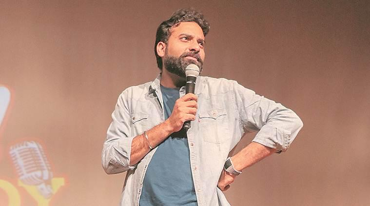 Anubhav Singh Bassi, comedian, stand up comedy, bassi stand up comedy circuit, entertainment, indian express