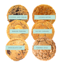 """<p><strong>samplers</strong></p><p>Cookie Society</p><p><strong>$20.00</strong></p><p><a href=""""https://cookiesociety.com/collections/frontpage"""" rel=""""nofollow noopener"""" target=""""_blank"""" data-ylk=""""slk:Shop Now"""" class=""""link rapid-noclick-resp"""">Shop Now</a></p><p>Who doesn't love a cookie (or six)? Can't decide which flavor to buy? Don't sweat it! This sample pack comes with six different yummy flavors.</p>"""