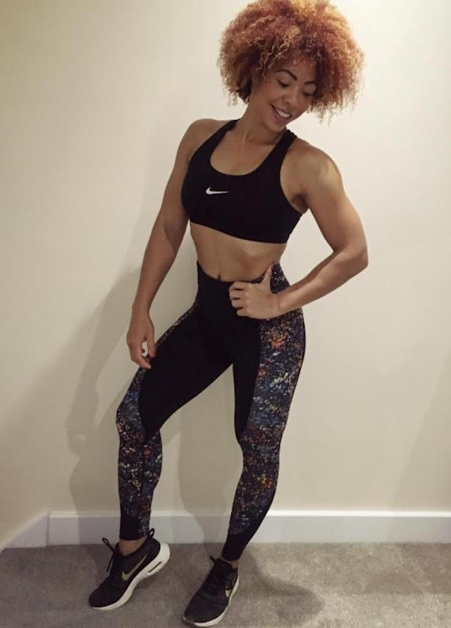 Natasha Gilson, 35, has bounced back from a traumatic pregnancy and a bout of sepsis, to become a superfit bodybuilder. [Photo: SWNS]