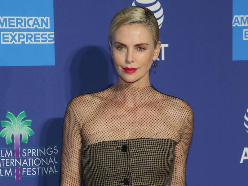 Charlize Theron hints The Bachelor's Peter Weber has messaged her
