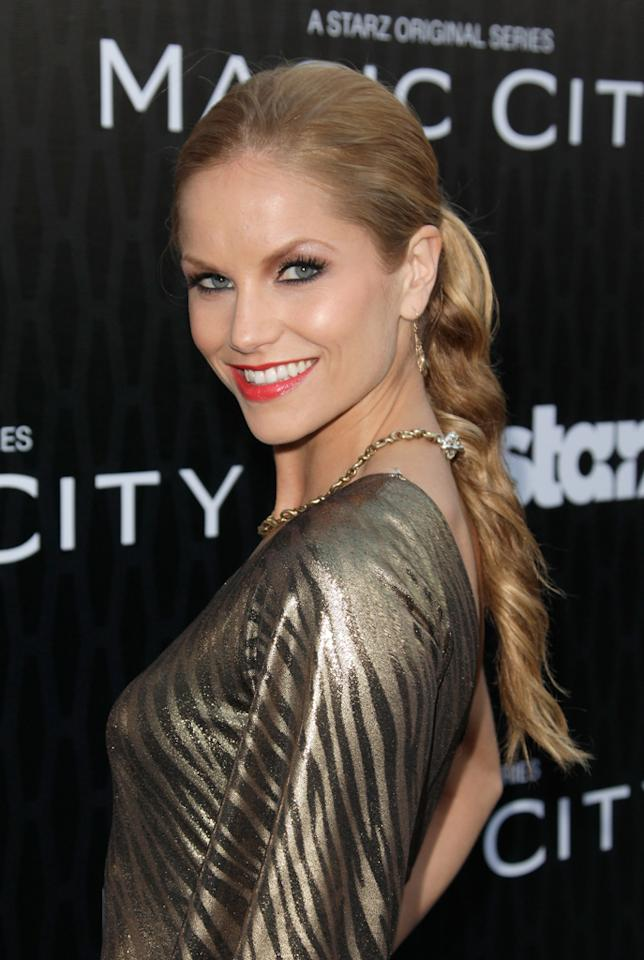 "Ellen Hollman attends the Starz '<a target=""_blank"" href=""http://tv.yahoo.com/magic-city/show/46996"">Magic City</a>' Los Angeles Series Premiere at Directors Guild Of America on March 20, 2012 in Los Angeles, California."