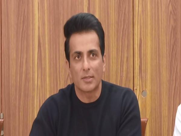 Actor Sonu Sood has denied any political ambitions after his meet with Delhi CM Arvind Kejriwal. (Photos/ANI)