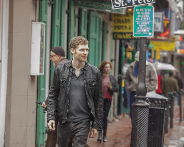"""The Originals"" -- Joseph Morgan as Klaus"