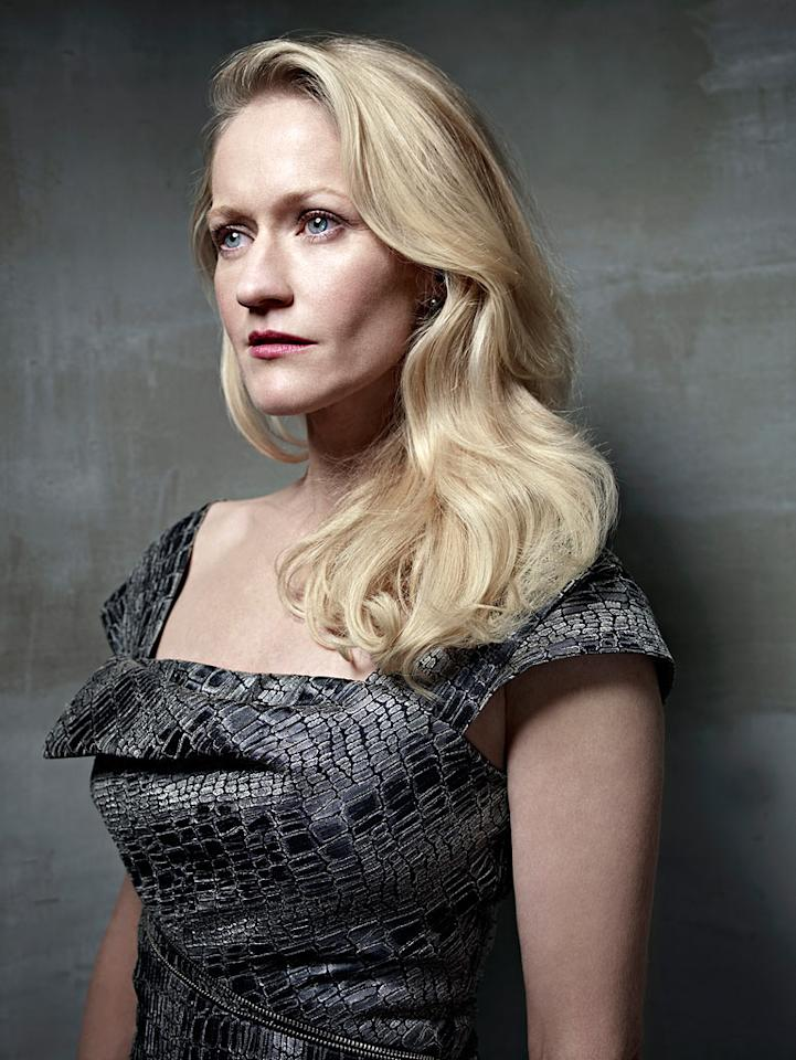 "Paula Malcomson stars as Amanda Graystone in ""Caprica."""