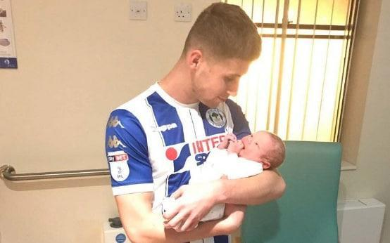 "Scoring twice in a 3-0 home victory would normally be the highlight of any League One footballer's week, but no so for Wigan Athletic player Ryan Colclough. The winger played a starring role in Wigan's win over Doncaster on Tuesday, but was substituted in the 55th minute so that he could dash to the hospital and make the birth of his second son. Colclough sprinted down the tunnel and arrived in time to see the new arrival, posting a picture on Twitter of him holding the new-born while still wearing full Wigan kit. Wigan assistant manager Leam Richardson, explained: ""At half-time we got the message that his missus' waters had broken, his second child. ""As soon as he got his second goal he was off the pitch, because his head was somewhere else. ""We're all men, we're all individuals - some of the players wouldn't have gone, they'd be still in the dressing room now! ""Others want to get straight out to support their partner, and you respect every individual in what they want to do."" Earlier this season, Swindon Town footballer Olly Lancashire left their match against Barnet at half-time after his wife went into labour. In rugby league, St Helens prop Alex Walmsley substituted himself in an effort to make the birth of his first child, and like Colclough he posed in full kit with mother and baby."