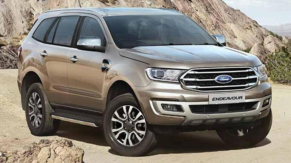 Ford Endeavour full-size SUV cuts down on features in India