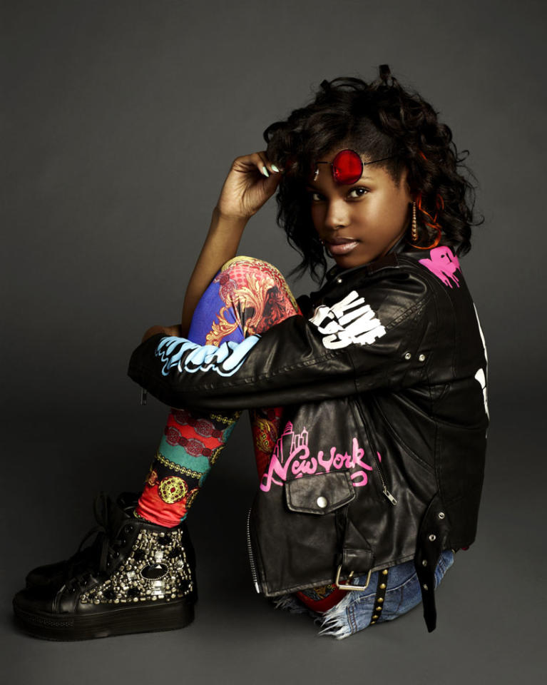 <b>Diamond White</b><br><br><b>Category:</b> Teens<br><b>Age:</b> 13<br><b>Hometown:</b> Los Angeles, CA
