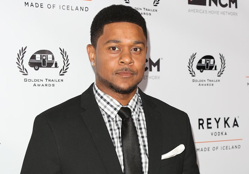Pooch Hall attends the 18th annual Golden Trailer Awards at the Saban Theatre on June 6, 2017, in Beverly Hills, Calif. (Photo: Paul Archuleta/FilmMagic)