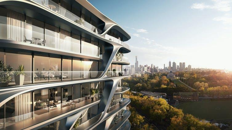 Zaha Hadid Architects has become well known for its use of algorithmic design. Zaha Hadid Architects