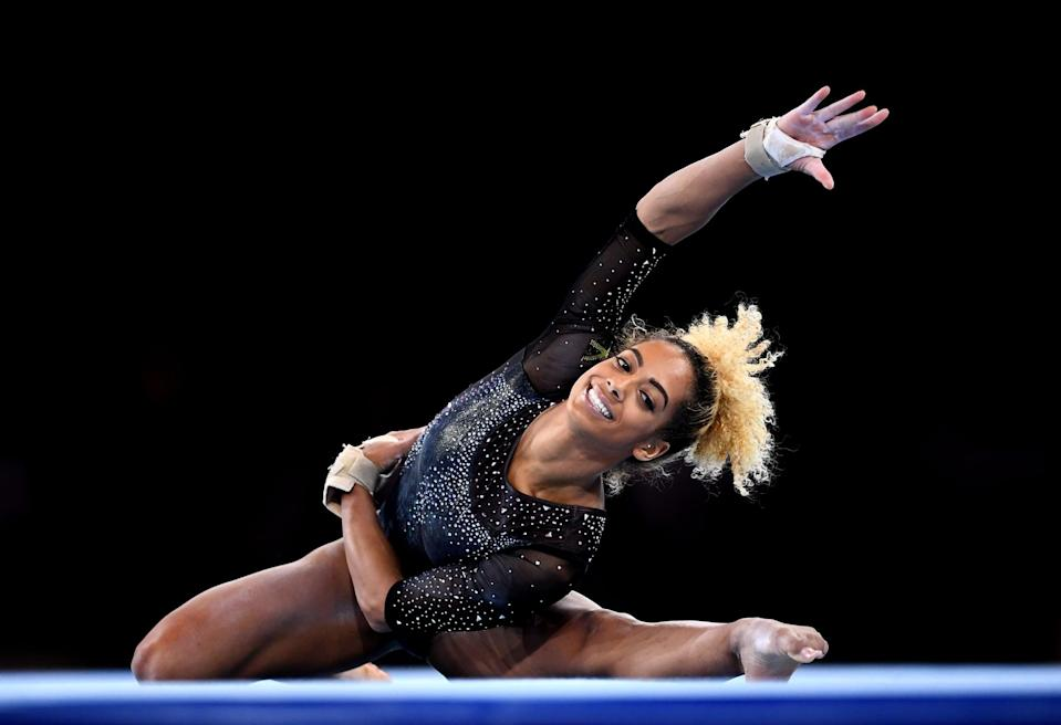 """<p><strong>Sport:</strong> Gymnastics<br> <strong>Country:</strong> Jamaica</p> <p>At UCLA, Francis was an <a href=""""https://uclabruins.com/sports/womens-gymnastics/roster/danusia-francis/4677"""" class=""""link rapid-noclick-resp"""" rel=""""nofollow noopener"""" target=""""_blank"""" data-ylk=""""slk:NCAA cochampion on the balance beam"""">NCAA cochampion on the balance beam</a> and a six-time All-American. After training for and then missing out on two Olympic berths, first in 2012 and again in 2016, Francis has officially qualified for an individual spot and will be the <a href=""""https://www.latimes.com/sports/olympics/story/2020-03-24/ucla-gymnast-danusia-francis-optimistic-amid-olympics-postponement"""" class=""""link rapid-noclick-resp"""" rel=""""nofollow noopener"""" target=""""_blank"""" data-ylk=""""slk:second gymnast to represent Jamaica"""">second gymnast to represent Jamaica</a> at the Olympics. With an inspirational story and graceful, perfect-10-worthy routines (she earned two 10s at UCLA), Francis will be one to keep your eye on.</p>"""