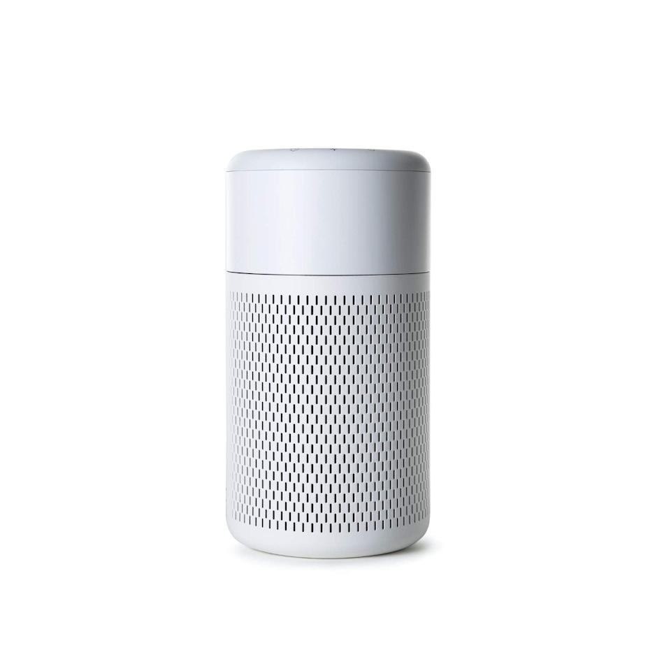 """<h3>NOMA Small Air Purifier</h3><br>This highly rated air purifier is ultra quiet, uses a HEPA filter that removes over 99% of allergens and bacteria, features a machine-washable pre-filter for easy cleaning, and an indicator ring that changes colors based on air quality. <br><br><em>Shop <a href=""""https://amzn.to/2ZZjVop"""" rel=""""nofollow noopener"""" target=""""_blank"""" data-ylk=""""slk:NOMA"""" class=""""link rapid-noclick-resp"""">NOMA</a></em><br><br><strong>NOMA</strong> Small Air Purifier With True HEPA Filter, $, available at <a href=""""https://amzn.to/3qWX1da"""" rel=""""nofollow noopener"""" target=""""_blank"""" data-ylk=""""slk:Amazon"""" class=""""link rapid-noclick-resp"""">Amazon</a>"""