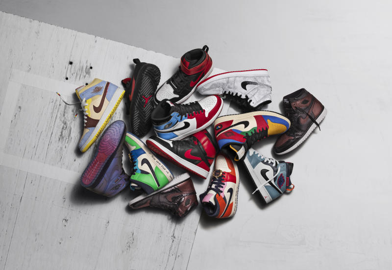 Jordan Fearless Ones collection — NIKE