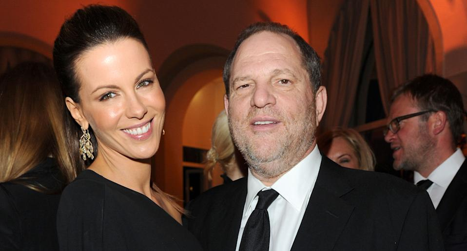 """Kate Beckinsale has revealed she suffered years of """"punishment"""" from disgraced Hollywood producer, Harvey Weinstein. (Photo By Daniele Venturelli/WireImage for Gucci)"""