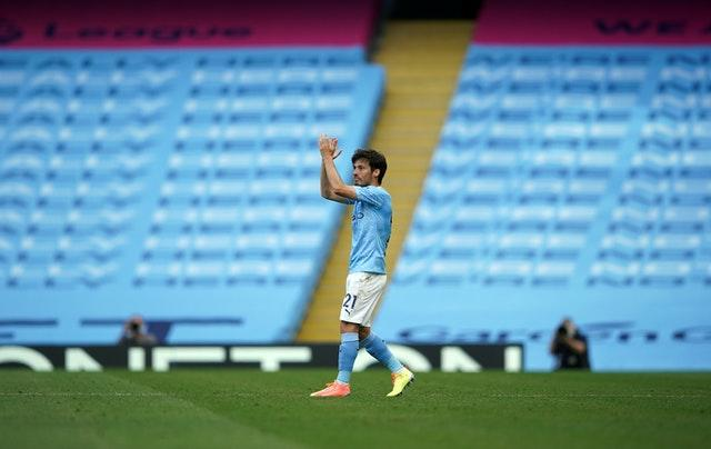 David Silva made his final Premier League appearance for the club
