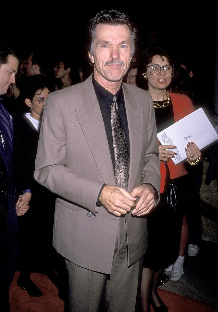 """Tom Skerritt attends the """"Steel Magnolias"""" premiere on Nov. 9, 1989, in Century City, California. (Photo: Ron Galella, Ltd./Ron Galella Collection via Getty Images)"""