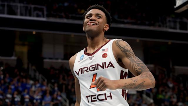 Virginia Tech guard Nickeil Alexander-Walker showcased his playmaking this past season. (AP Photo/Ben Margot)