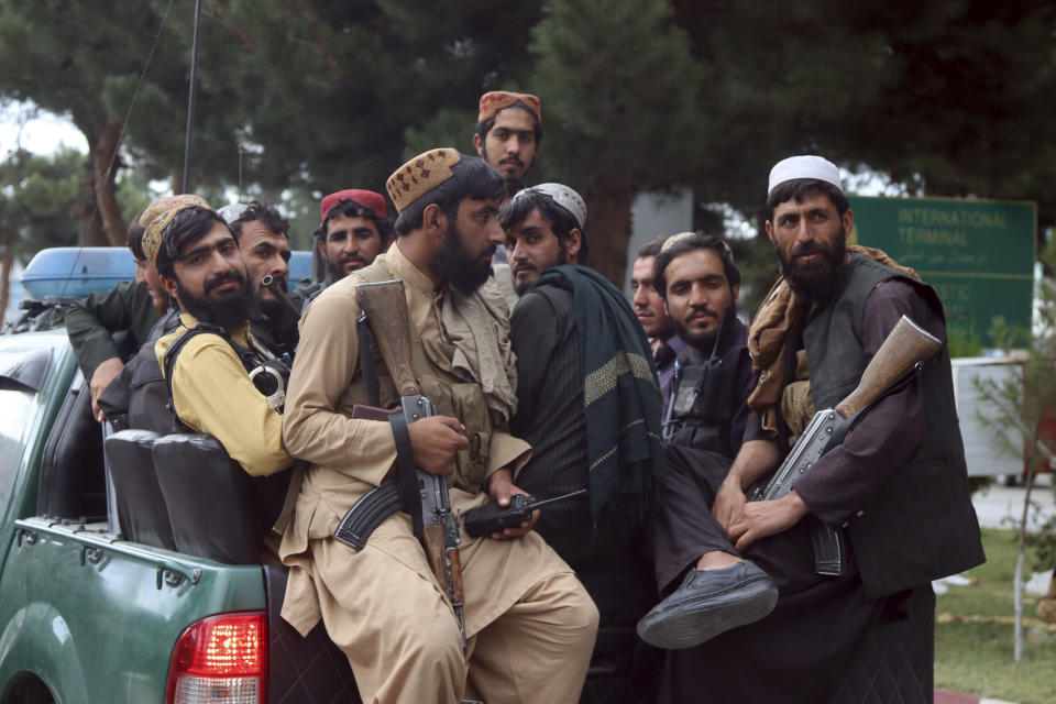 Mohamad was once held captive by the Taliban, who reclaimed control of Afghanistan in August (Khwaja Tawfiq Sediqi/AP)