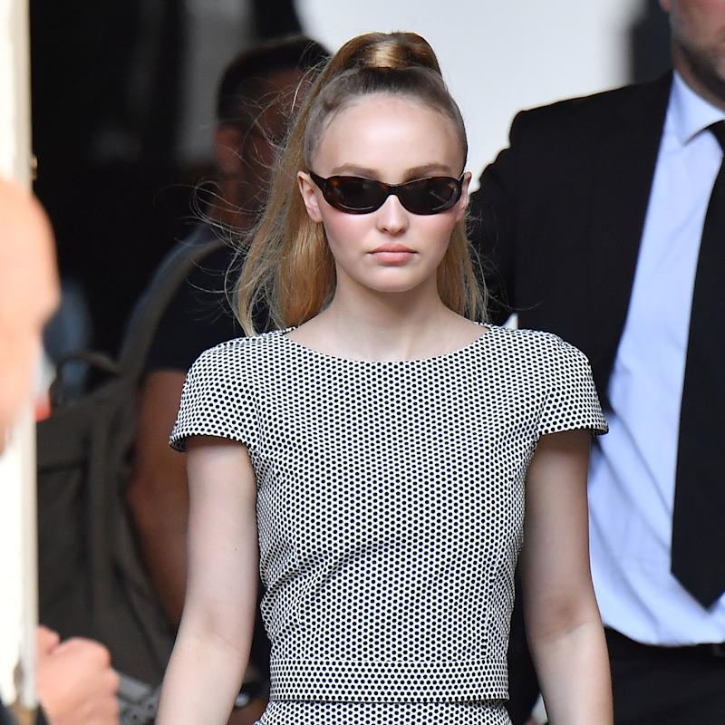 3e58d337eec2e Lily-Rose Depp Gives a Lesson in the French vs. American Ponytail