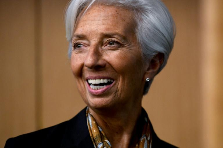 International Monetary Fund Managing Director Christine Lagarde will accomplish another first, as she takes over the helm of the European Central Bank (AFP Photo/Mohd RASFAN)