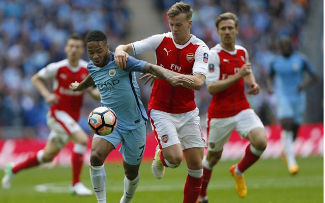 <span>21-year-old Rob Holding had a very impressive game</span> <span>Credit: Rex Features </span>