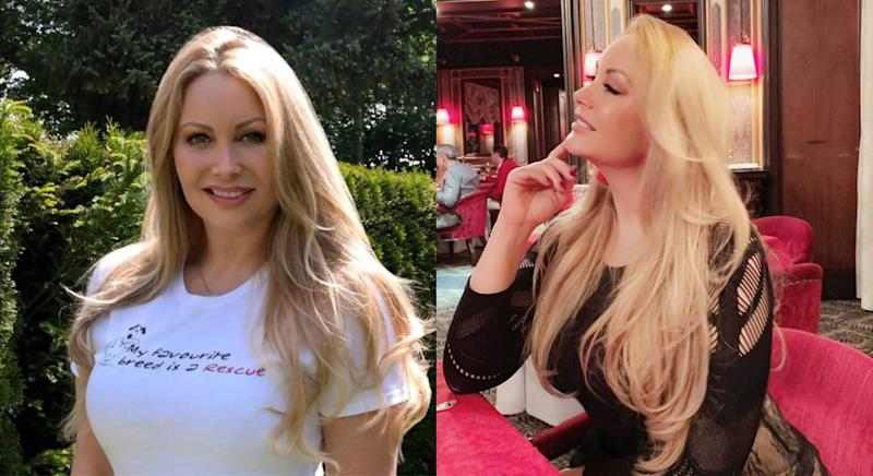 The 48-year-old believes her plant-based diet is the reason for her youthful looks. [Photo: Caters]