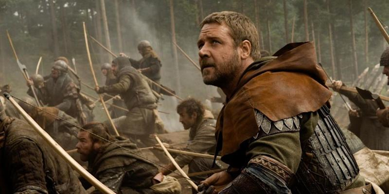 Russell Crowe as Robin Hood (Credit: Universal)