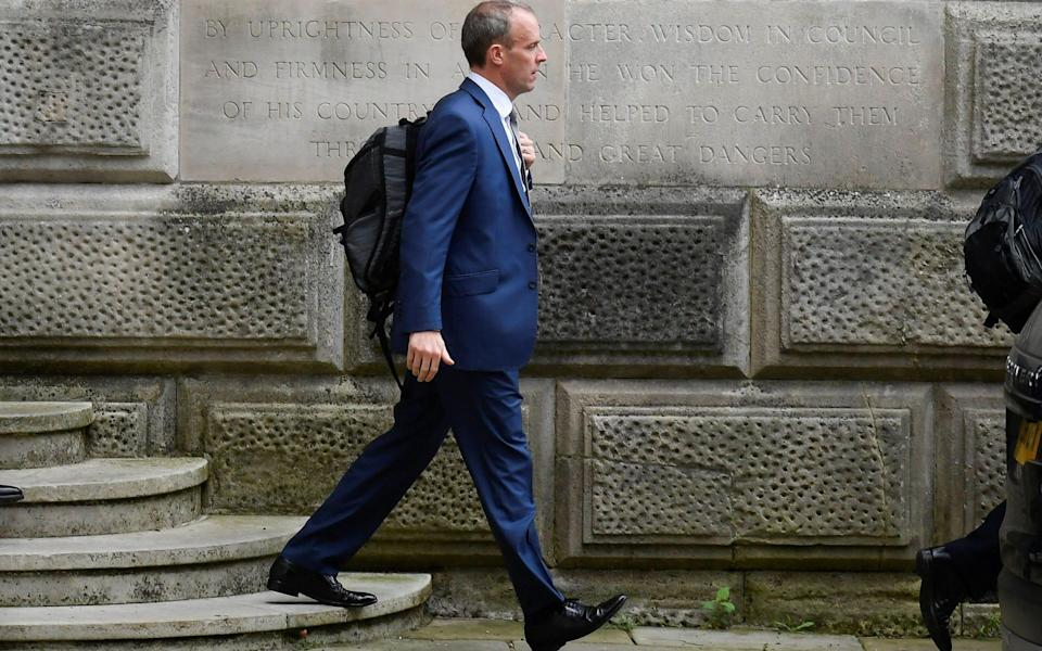 Dominic Raab has come under fire in recent weeks - Reuters