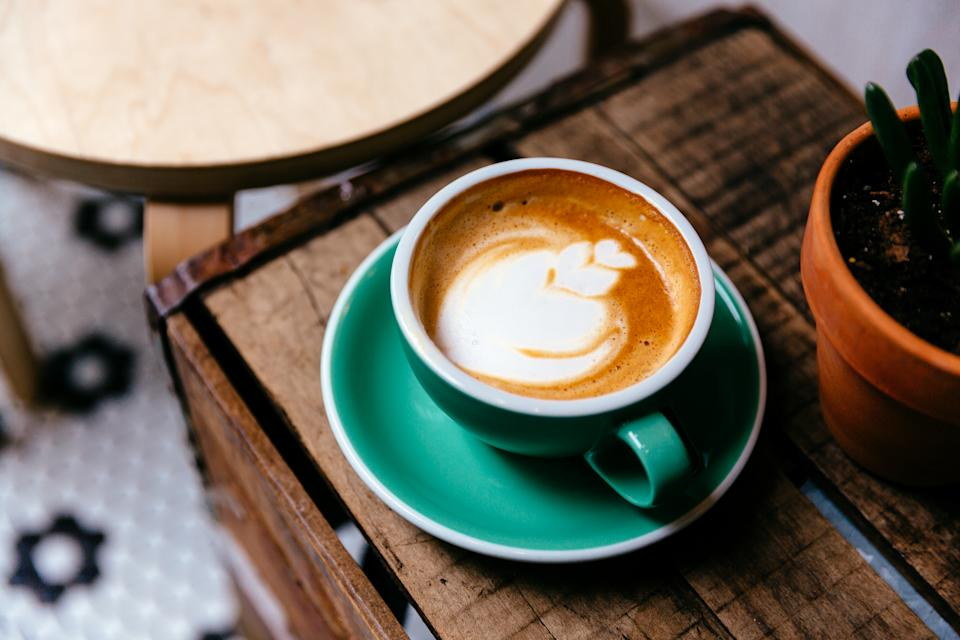 Coffee 'has a reputation for causing or exacerbating' heart rhythm problems. (Stock, Getty Images)