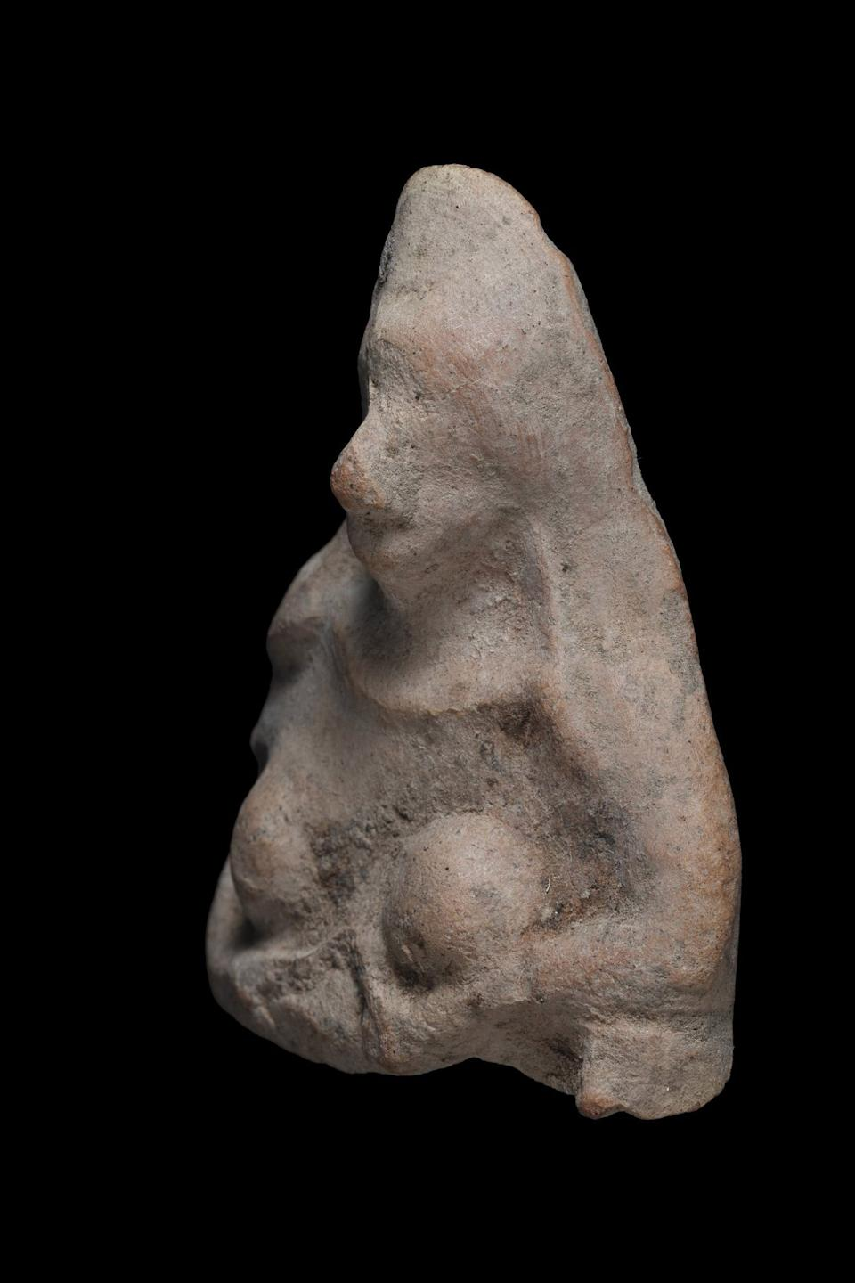 The 2,500-year-old figurine. Source: Newsflash/Australscope