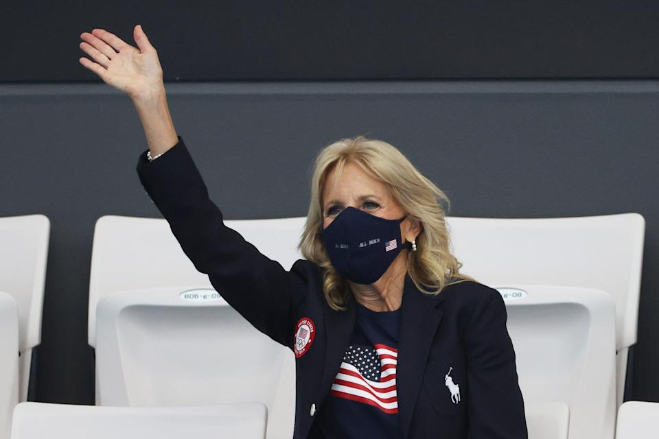 Dr Biden attends Olympic events in Tokyo (Getty Images)