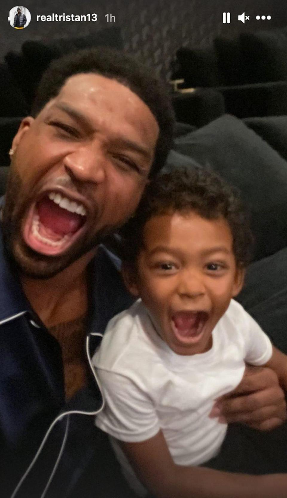 Tristan Thompson and Prince
